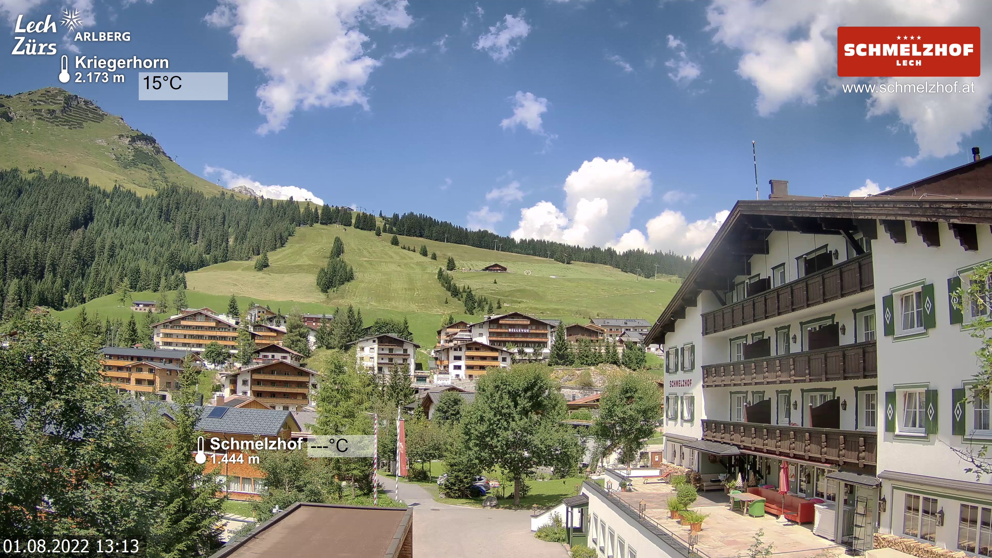 Webcam Lech am Arlberg - Hotel Schmmelzhof